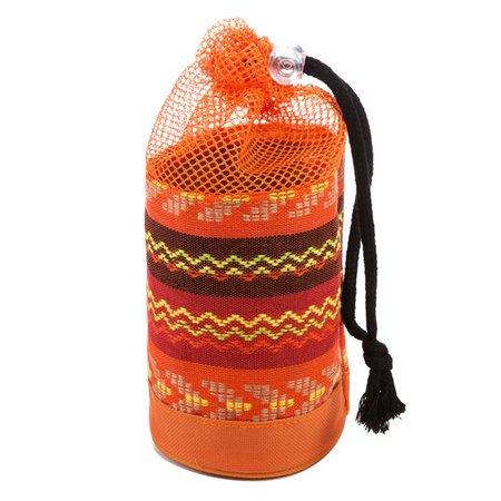 Ethnic Style Stripe Pattern Outdoor Camping Bottle Storage Bag