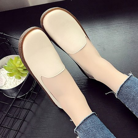 PU Flat Heel Summer Casual Loafers