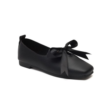PU Spring Bowknot Loafers