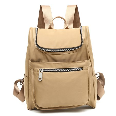 Waterproof Nylon Multi Pockets Casual Backpack For Women