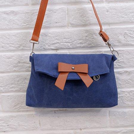 Ladies Sweet Bow Decoration Crossbody Bag