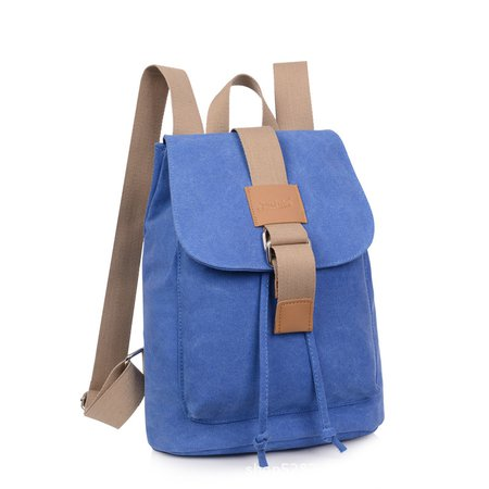 Durable Canvas Stylish Casual Multi-slots Backpack For Women