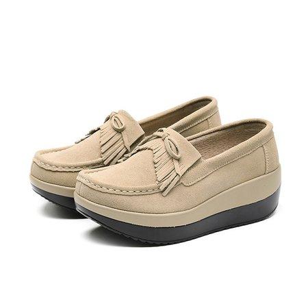 Platform Casual Loafers