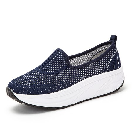 Large Size Mesh Fabric Hollow-out Sport Shoes