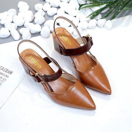 Summer Buckle Dress PU Sandals
