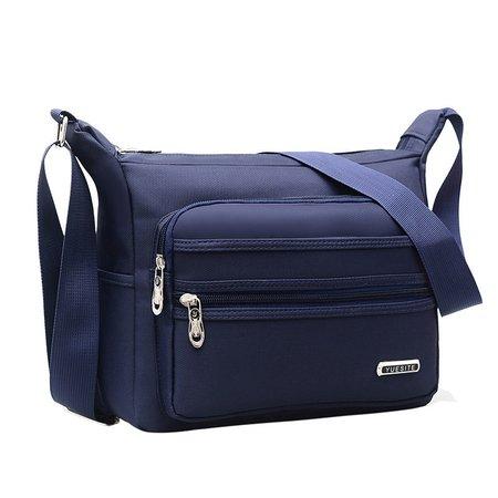 Waterproof Casual Oxford Multi-slots Crossbody Bag For Men