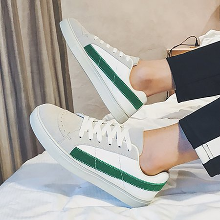 Breathable Flat Heel Spring/Fall Lace-up Casual Shoes