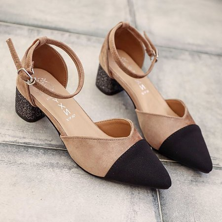 Dress Summer Suede Pumps