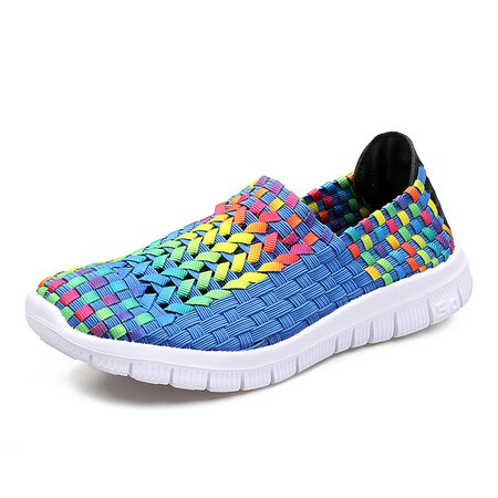 Breathable Athletic Knitted Fabric Sneakers