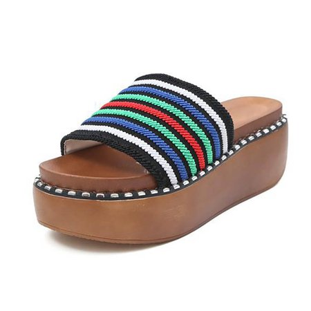 Daily Knitted Fabric Slippers