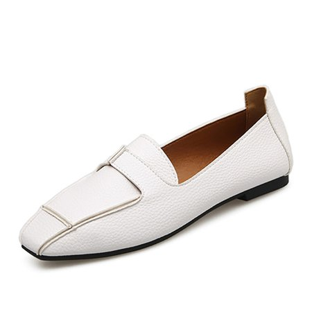 Slip-On Flat Heel Casual Loafers