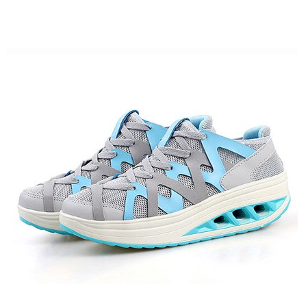 Platform Daily Mesh Fabric Sneakers