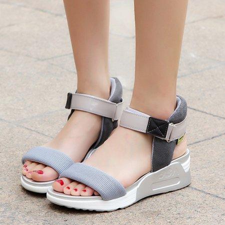 Casual Magic Tape Sandals