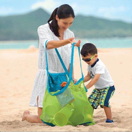Children Beach Toys Storage Bag Sundries Bag Mesh Bags