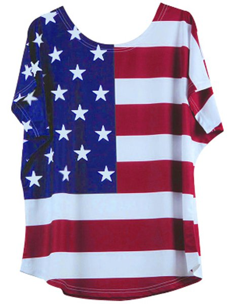 Short Sleeve Spandex T-Shirt