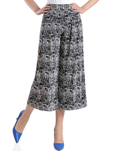 Casual Paneled Maxi Size Pants