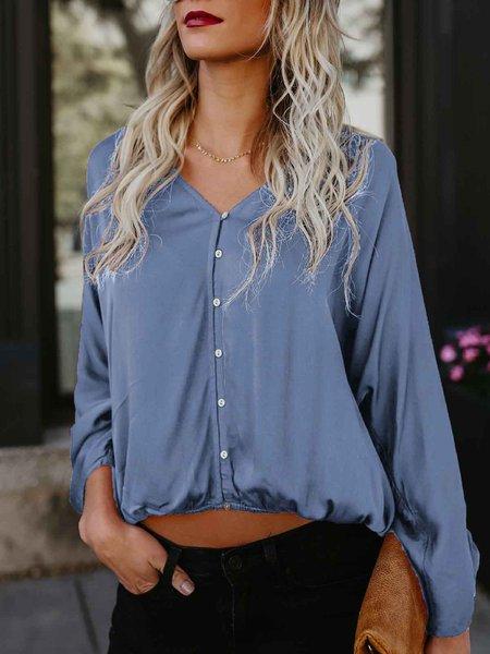 Long Sleeve Polyester T-Shirt