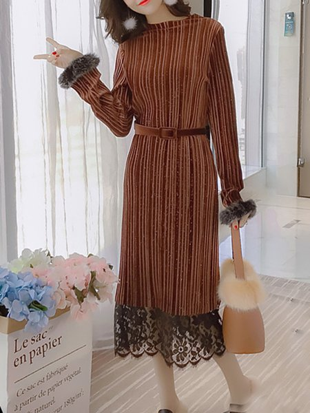 Floral Elegant Long Sleeve Dress