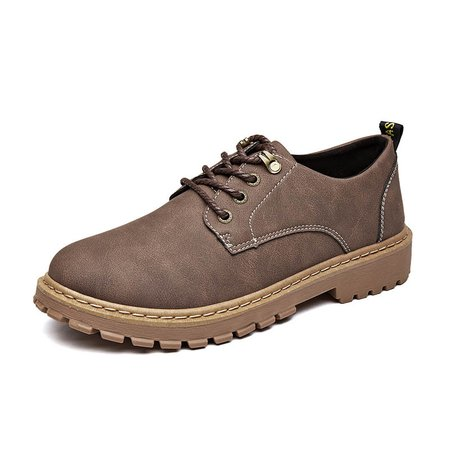 Plus Size Artificial Leather Lace-up All Season Men Casual Shoes