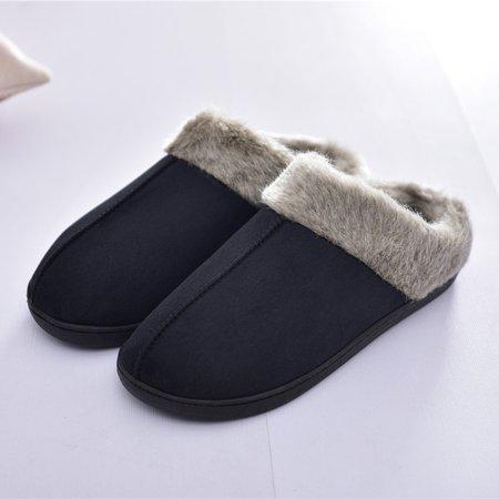 Indoor Winter Casual Flat Heel Men's Slippers