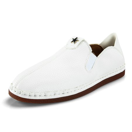 Plus Size Brown Spring/Fall Artificial Leather Formal Shoes