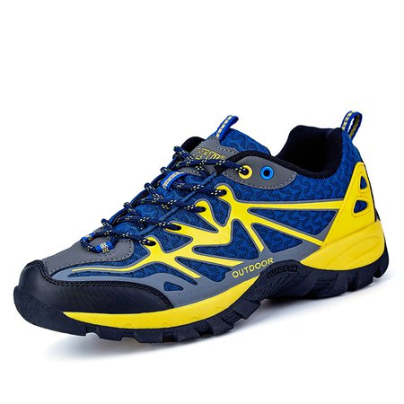 Outdoor Hiking All Season Lace-up Athletic Mesh Men's Sneakers
