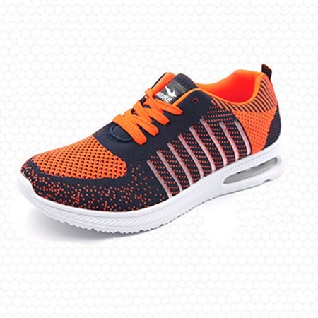 Damping Breathable Flat Heel Split Joint  Cloth Athletic Sneakers