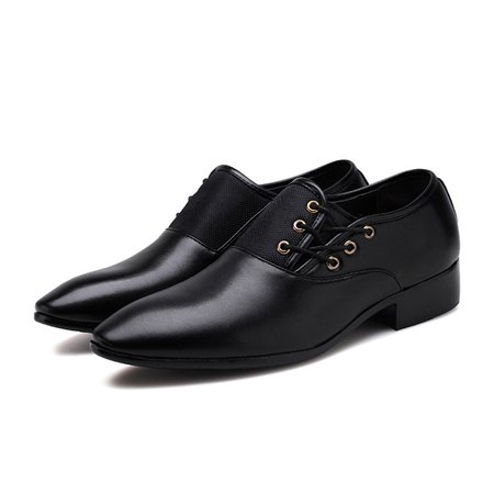 Low Heel Artificial Leather Office & Career Formal Shoes