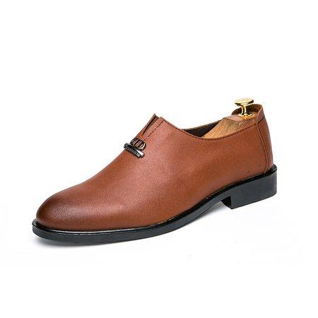 Casual Synthetic Fibre Rivet All Season Formal Shoes