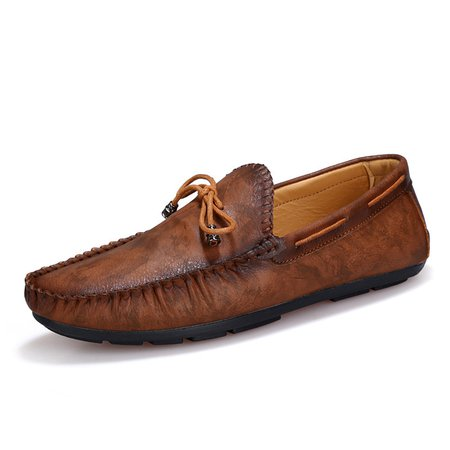 Daily Flat Heel Artificial Leather Flats & Loafers