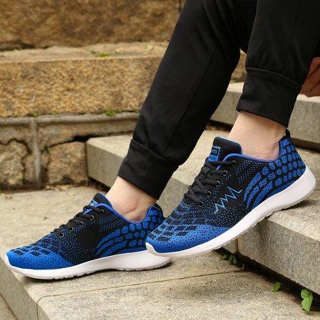 Lace-up Breathable Soft Men's Shoes