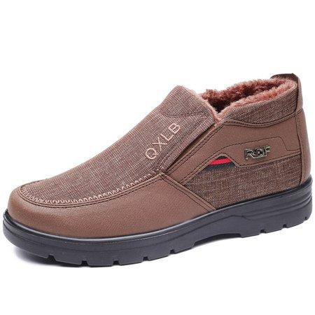 Warm Non-slip Cotton Flat Heel Boots