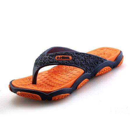 Non-slip Plastic Flat Heel Casual Men's Sandals