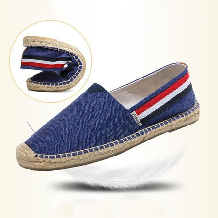 Flat Heel Canvas Daily Flats & Loafers