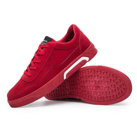 Sport Artificial Leather Lace-up Hiking Flat Heel Sneakers