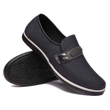 Mens Old Peking Cloth Flats & Loafers