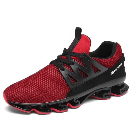 Men Sports Lace-up Cloth Flat Heel Sneakers