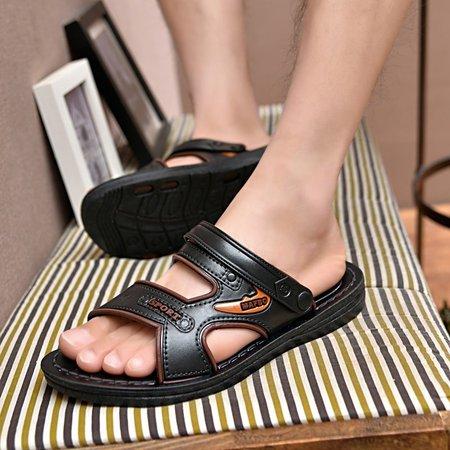 Men Shoes 2018 Men Sandals Beach Platform Slippers