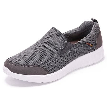 Men Large Size Old Peking Breathable Slip On Casual Cloth Shoes
