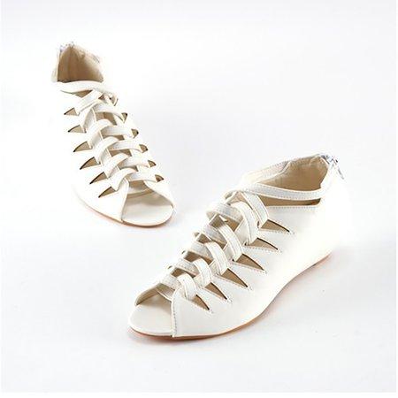 PU Low Heel Outdoor Sandals