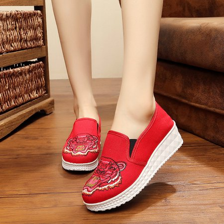 Embroidery Canvas Daily Wedges