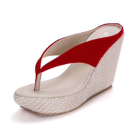 Slip On Wedge Heel Daily Shoes