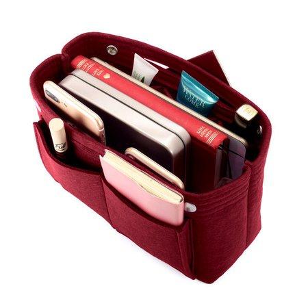 Women Cosmetic Felt Home Storage Bag Travel Toiletry Inner Bag