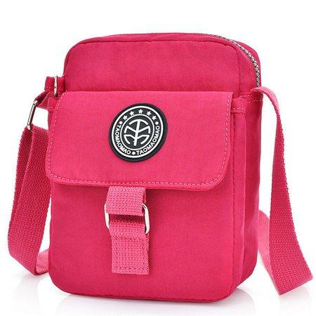 Women Nylon Messenger Bags Casual Outdoor Waterproof Crossbody Bags