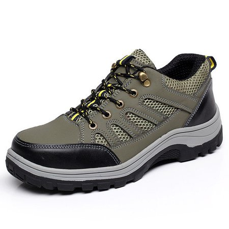 Men Outdoor Safty Work Shoes