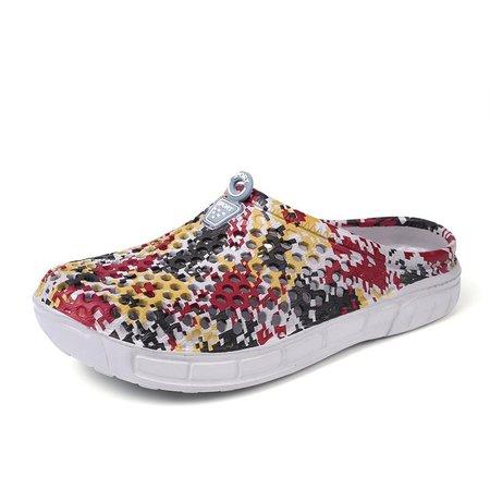 Men Hole Breathable Beach Shoes Light Waterproof Casual Garden Sandals