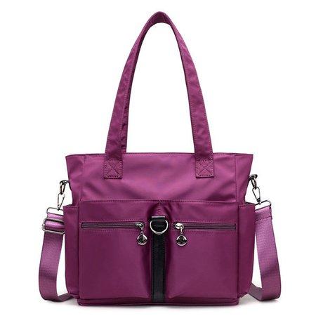 Nylon Waterproof Multi-pockets Handbag Shoulder Crossbody Bags