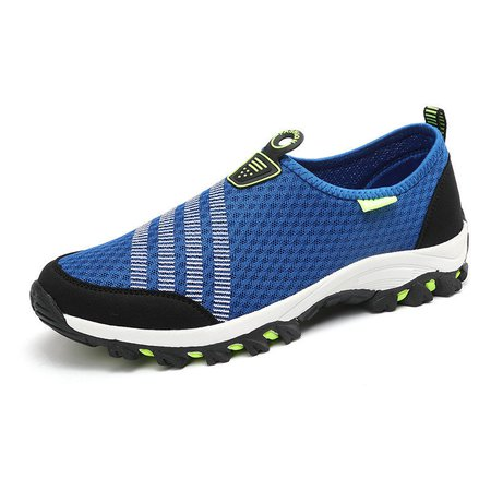 Men Hollow Out Breathable Slip On Shoes