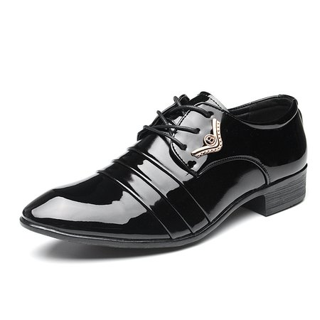 Men's Pointed Toe Business British Classic Formal Casual Shoes