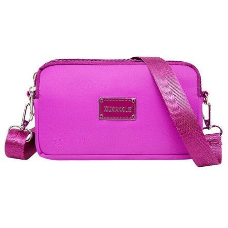 Women Nylon Clutches Purse Travel Casual Passport Crossbody Bag
